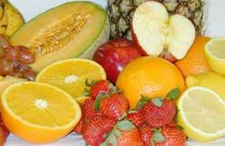 Frutas, alimento con fibra soluble